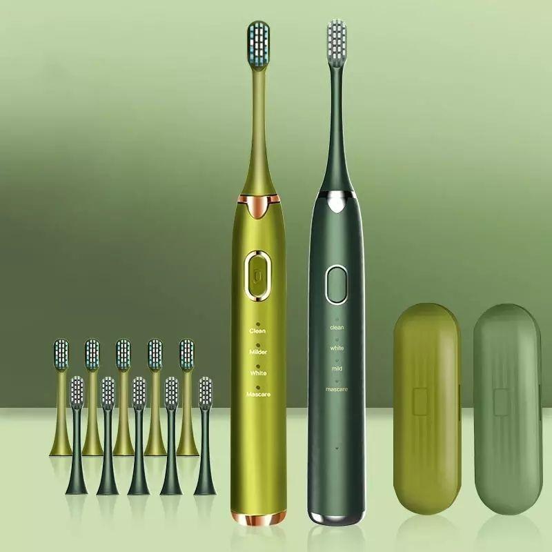 Cepillo de dientes eléctrico IPX8 + 2 Cabezales