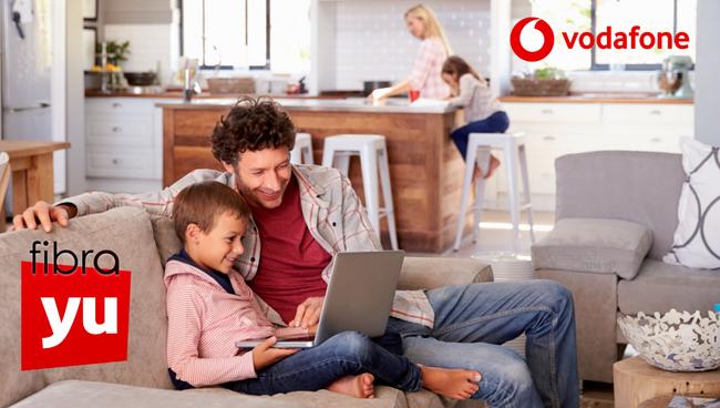 Vodafone estrena fibra yuser a 120 Mbps simétricos por 34 euros con HBO gratis seis meses