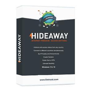Hideaway VPN GRATIS 1 año