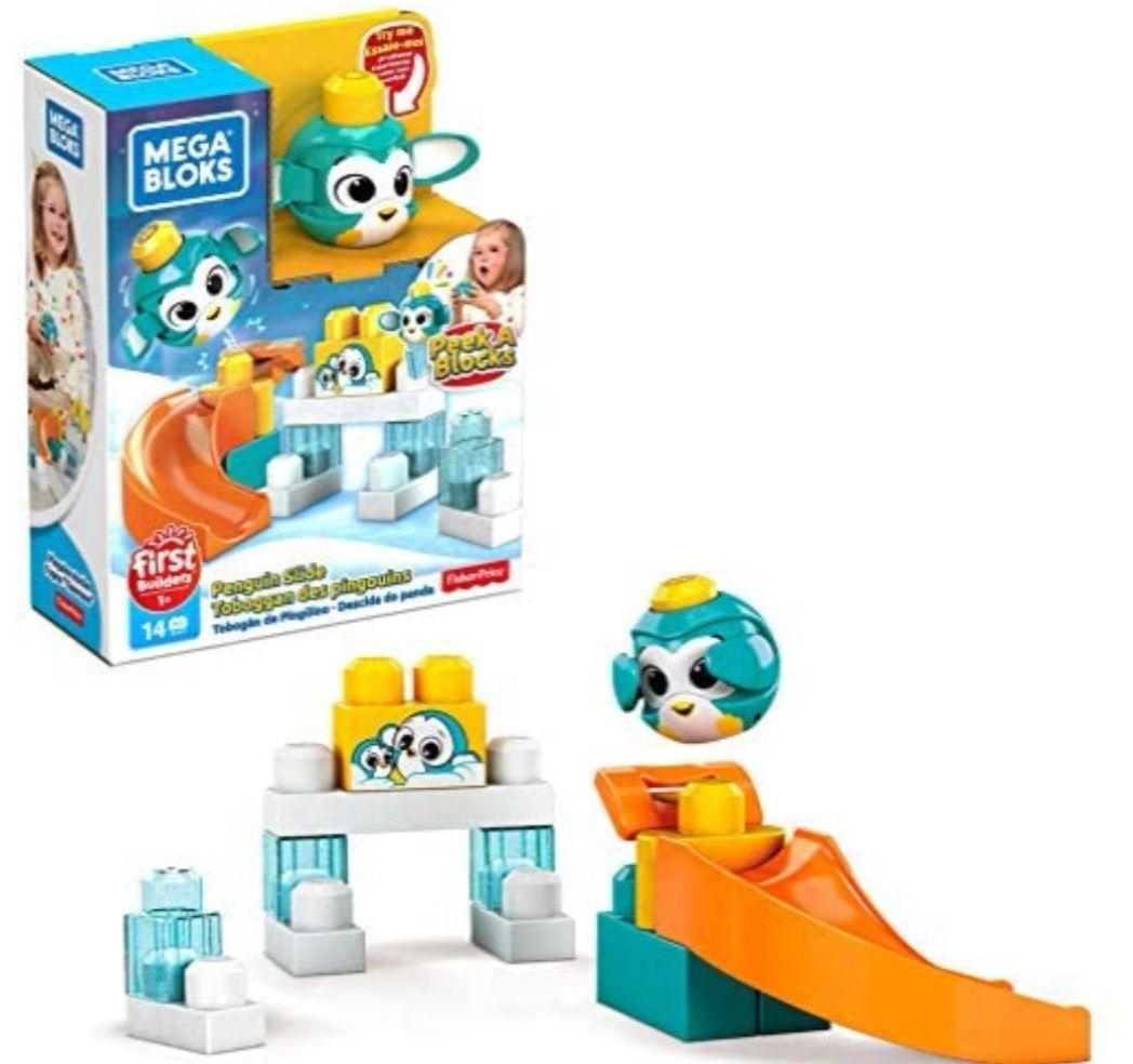 Mega Bloks Bloques de construcción Pinguino Escondite