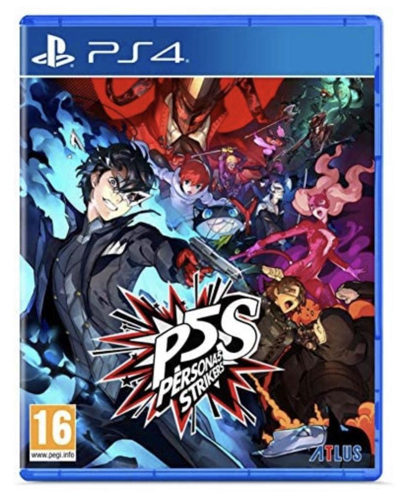 Persona 5 Strikers - Editión Limitada PS4 PS5 PlayStation