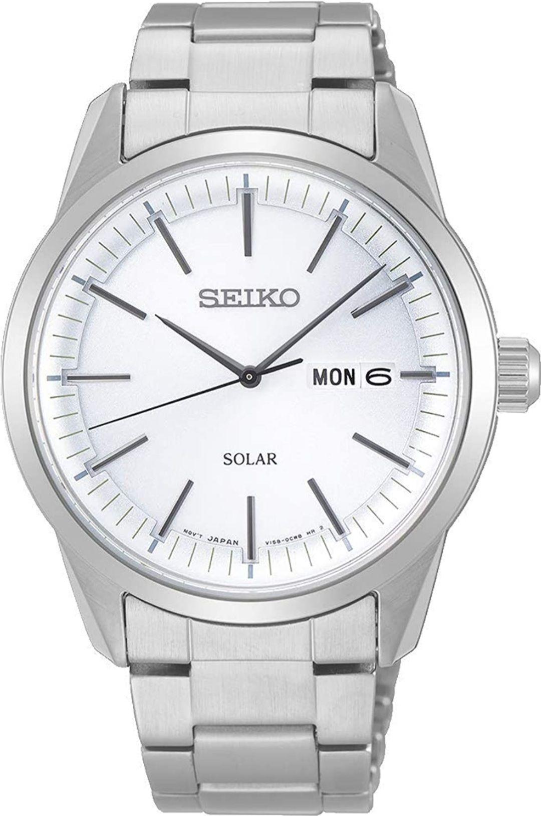 Reloj Seiko Solar (cristal de zafiro).
