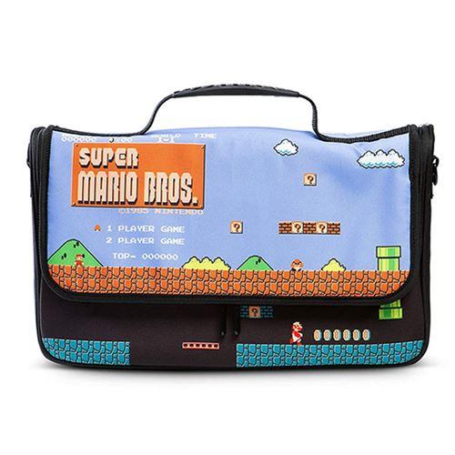 Funda bandolera para Nintendo Switch con diseño de Super Mario Bros