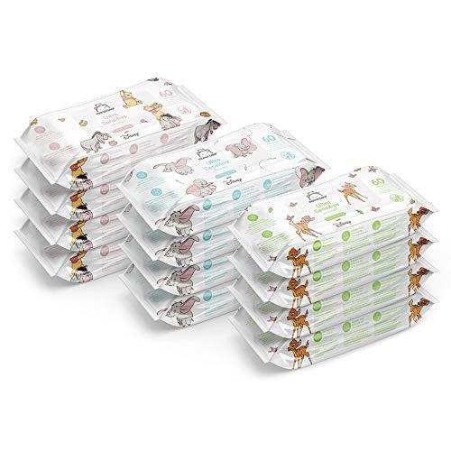 720 Toallitas biodegradables ultrasensibles de Disney