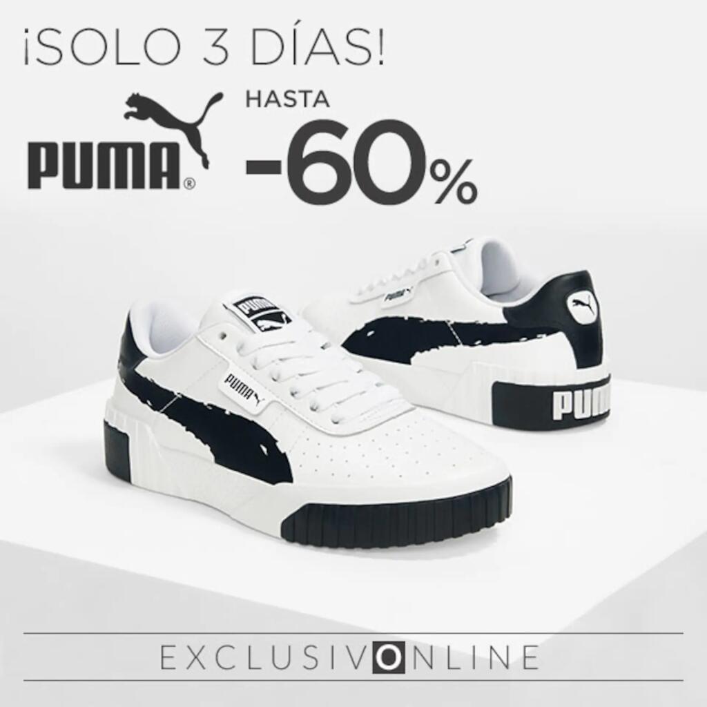 -60% Puma Online Del 5 Al 7 De Abril