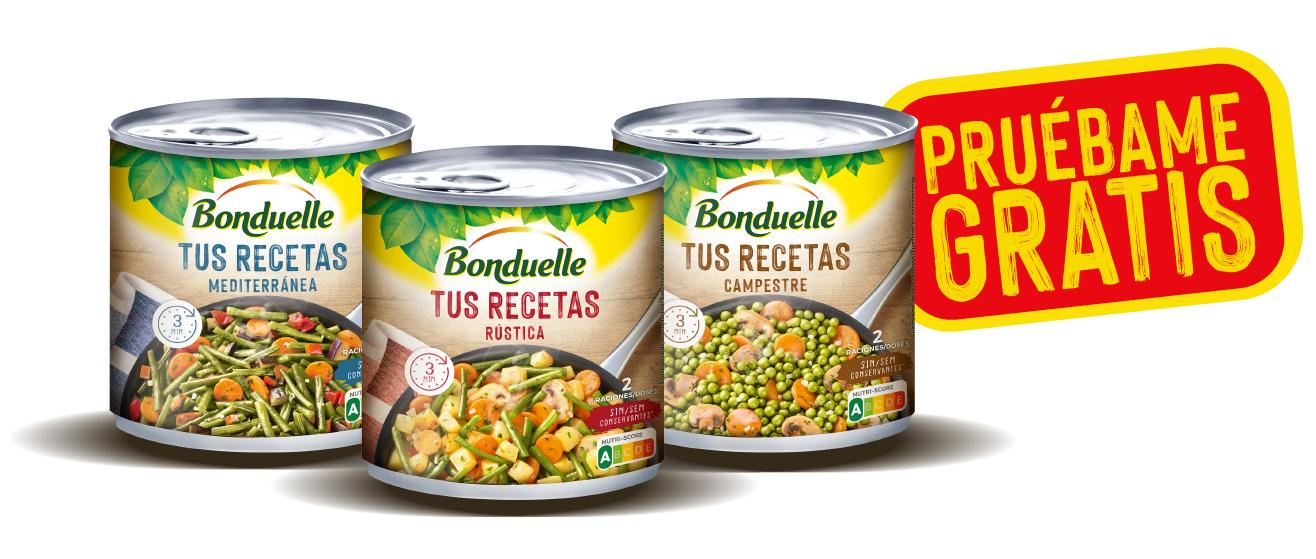 REEMBOLSO ''TUS RECETAS'' BONDUELLE