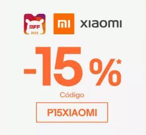 Cupón del 15% en eBay para selección Xiaomi