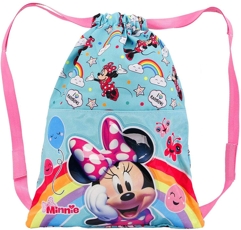 Minnie Mouse Rainbow-Saco de Cuerdas 31 cm