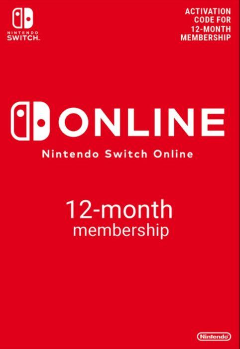 Nintendo Switch Online 1 año