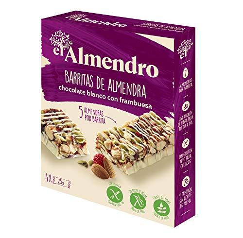 El Almendro - Barritas de Almendra, Chocolate Blanco y Frutos Rojo