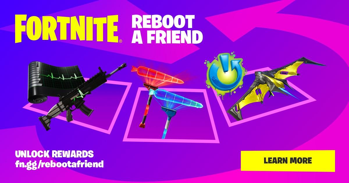 Fornite - Recompensas gratis por invitar amigos 2 vez