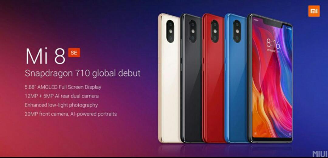 Xiaomi mi8 SE 4/64