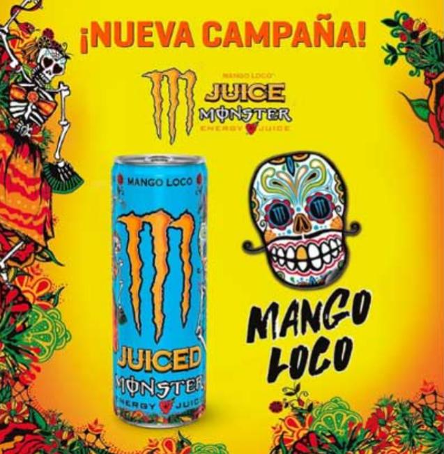 Prueba gratis Monster Juiced Mango Loco (Samplia)