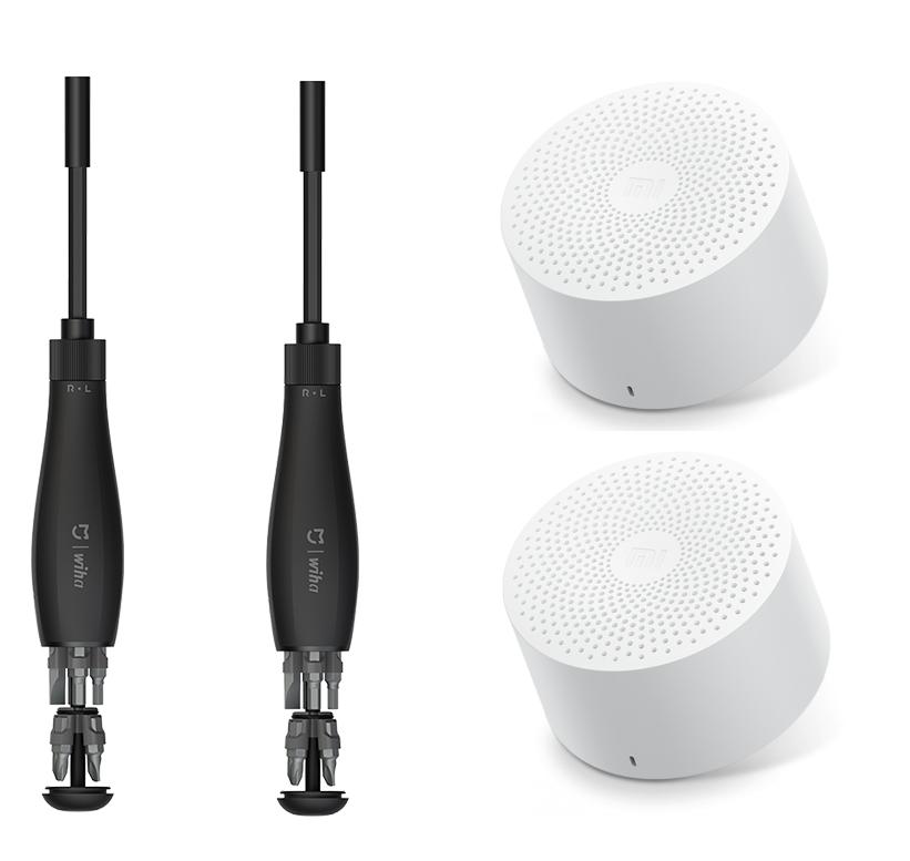 2x Mi x Wiha +2x Compact Speaker solo 19.9€