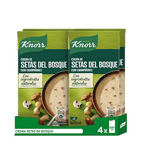 Knorr Crema Setas Bosque - 4 x 500ml