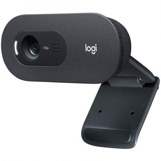 Logitech C505 Webcam HD con Micrófono de Gran Alcance