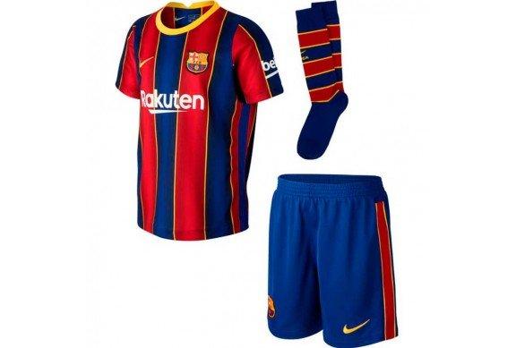 Conjuntos de niño del FC Barcelona a mitad de precio