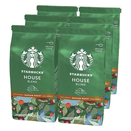 6 bolsas de 200g de Starbucks molido por 10,40€ + otros productos de desayuno con descuento al tramitar
