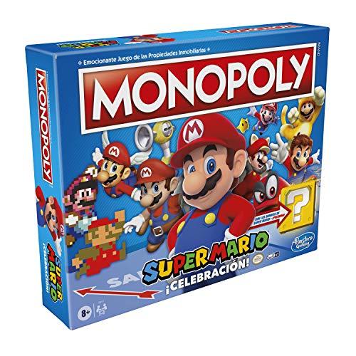 Monopoly Super Mario Bros Celebración - Juego de Mesa
