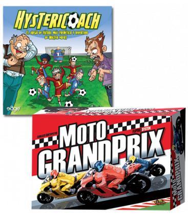 Pack Moto Grand Prix e Hystericoach - Juegos de Mesa