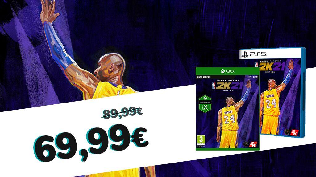 NBA 2K21 Edición Mamba Forever Ps5 y Xbox One