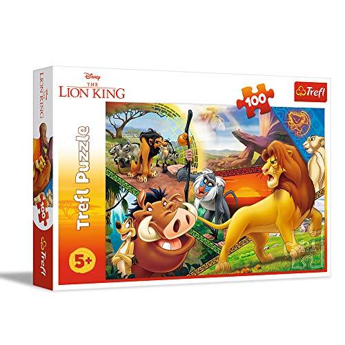 Se puede volver a pedir Puzzle Rey León 100 piezas