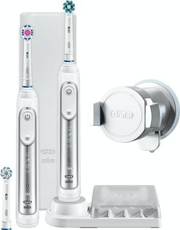 Oral-B Genius 8900 CrossAction Adulto Cepillo dental oscilante Blanco