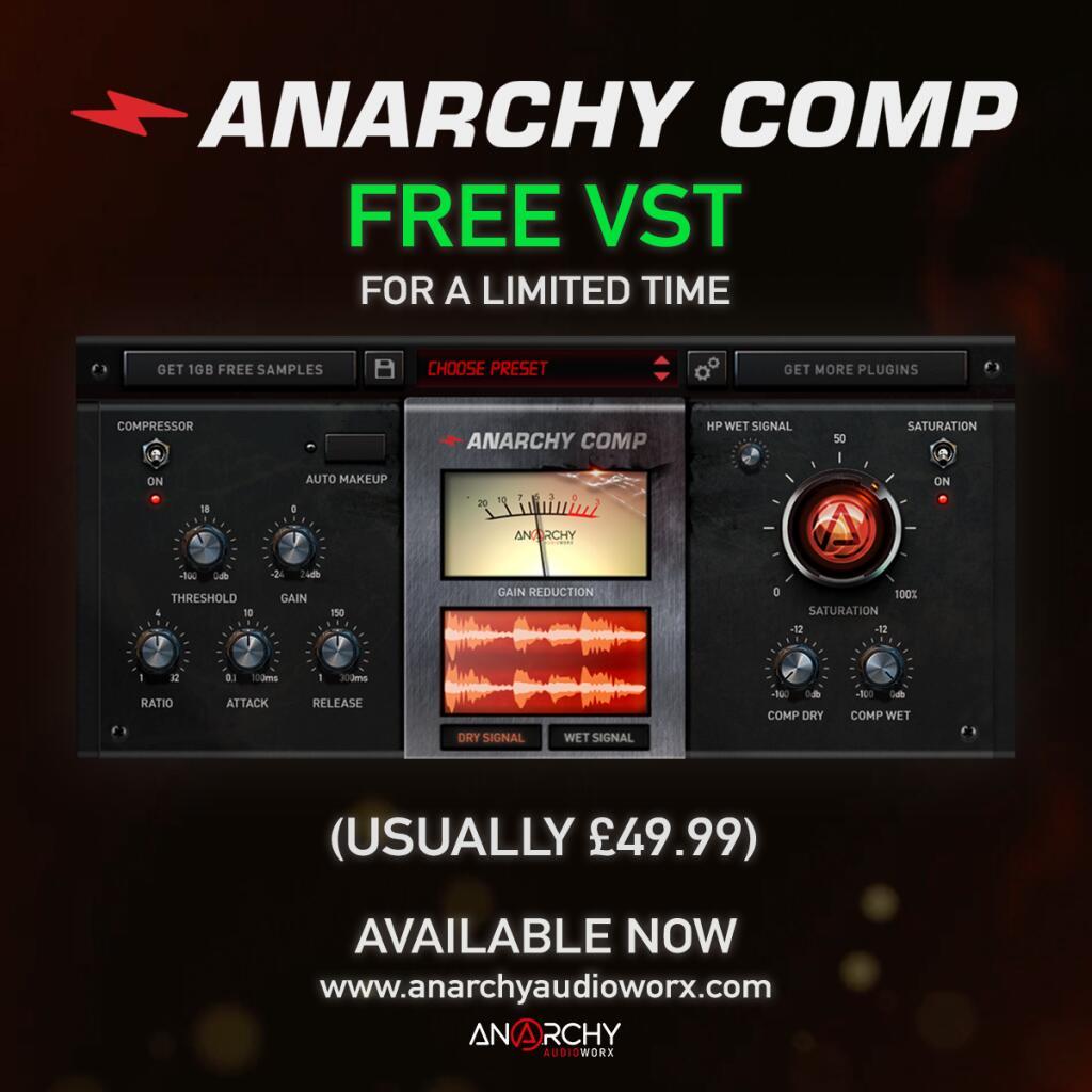 Anarchy Comp [VST & AU Plugin, Mac & PC]
