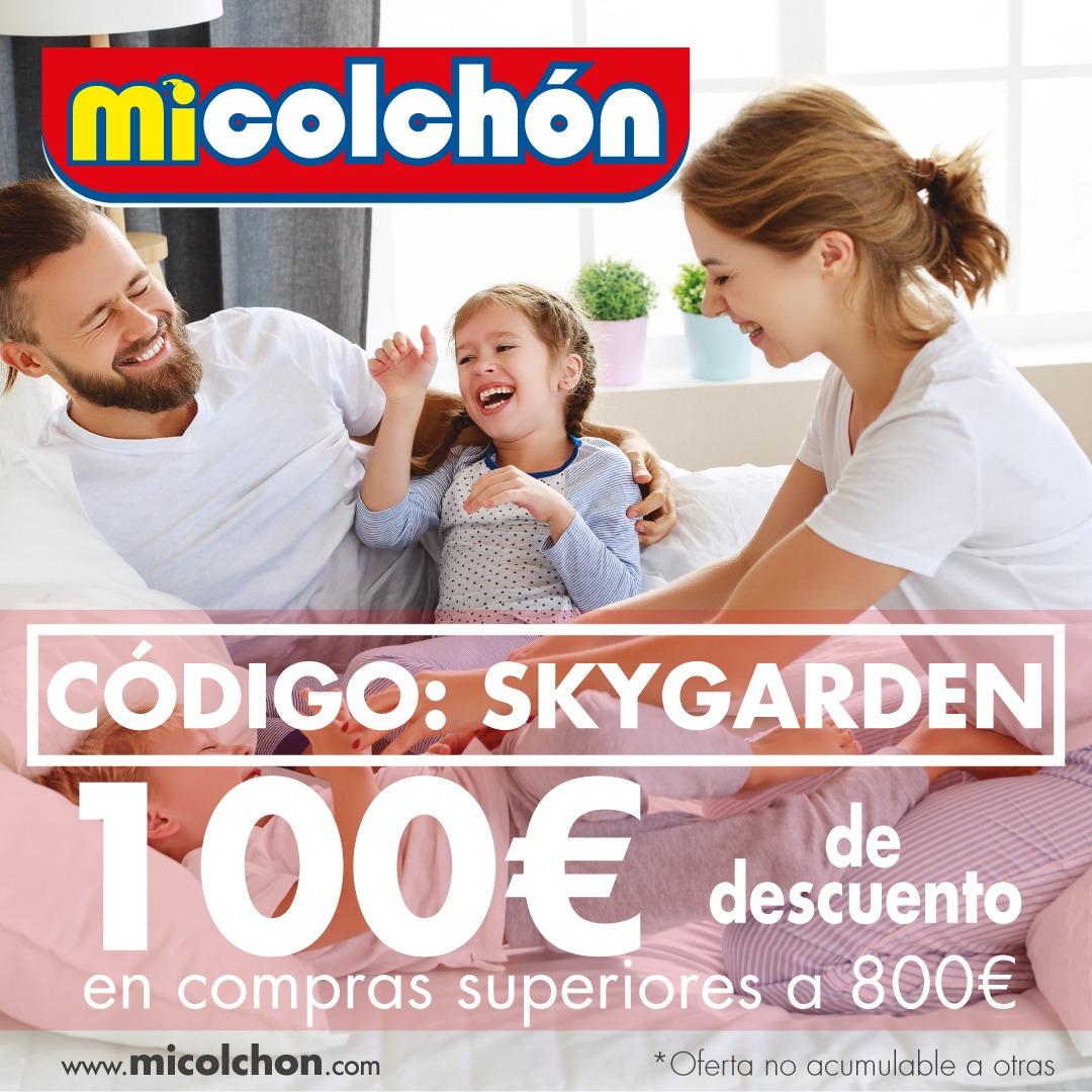 100€ de descuento en Micolchon en compras superiores a 800€