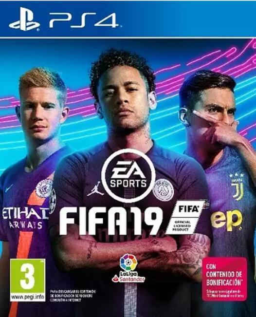 FIFA 19 PS4. Edición Estándar. Nuevo.