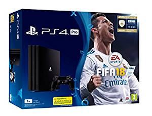 Consola PS4 Slim (chasis D) de 1TB + FIFA18 + PS Plus 14 días
