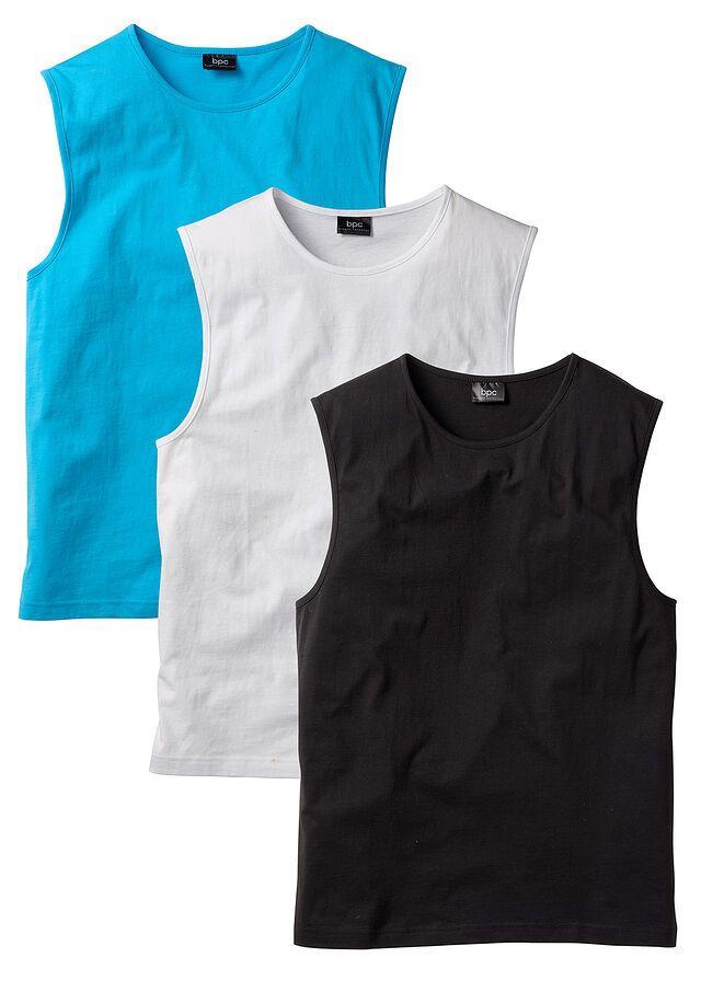 Pack de 3 camisetas sin mangas para hombre