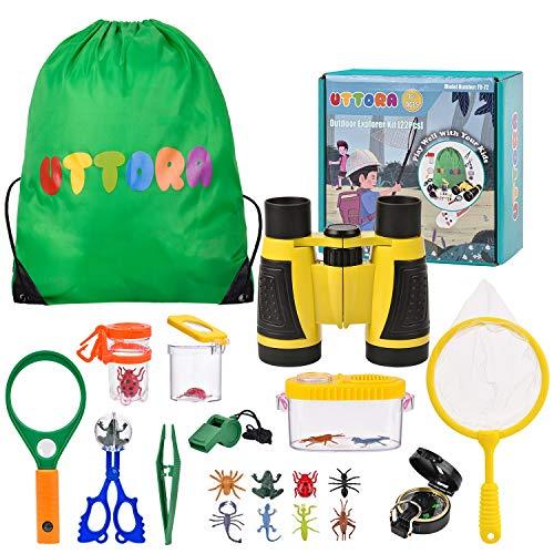 UTTORA Kit de Exploración para Niños 22 en 1
