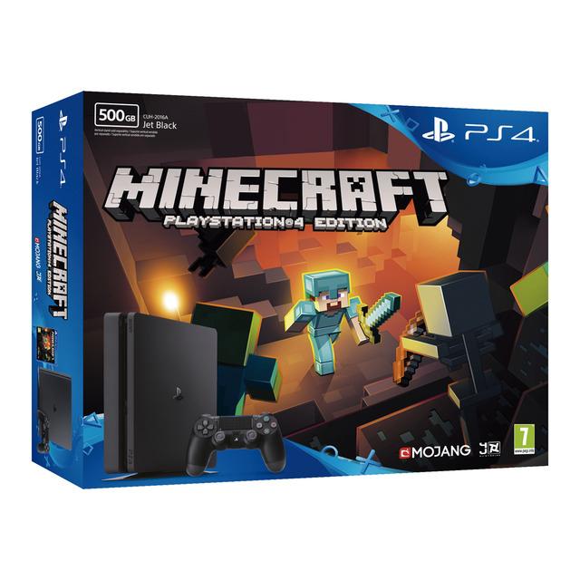 Consola PS4 Slim de 500GB + Minecraft
