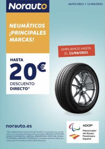 Oferta en Neumáticos (Norauto Alcorcon parque oeste)