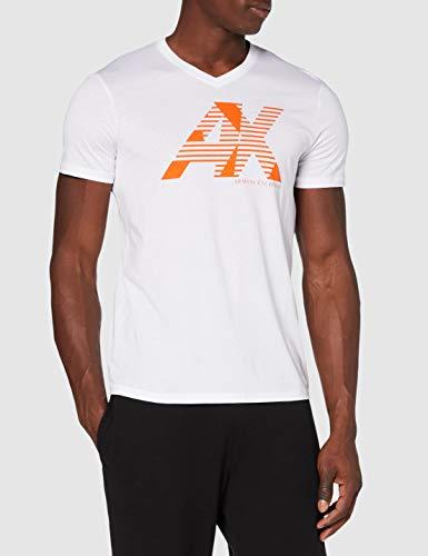 Camiseta Armani Exchange blanca talla M
