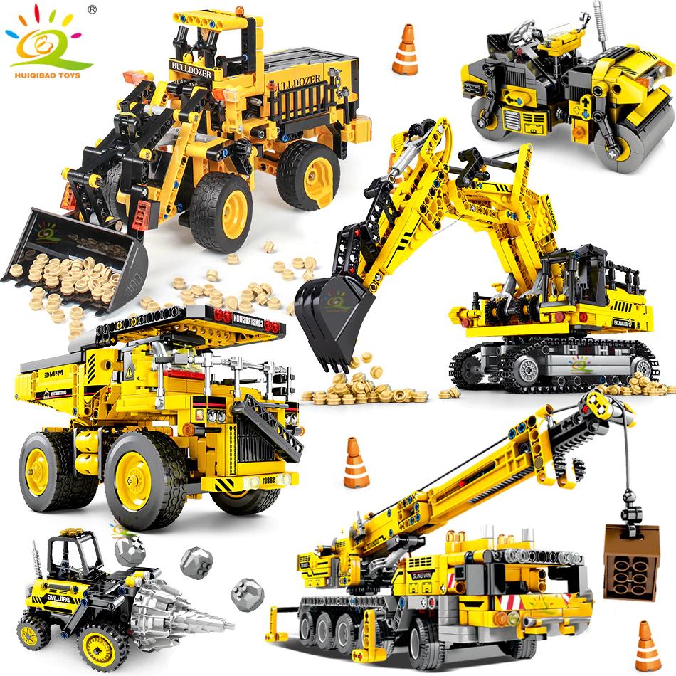 Maquinas de construcción,con bloques de construcción desde (8,55)