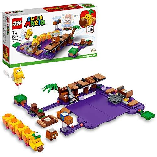 LEGO Super Mario Set de Expansión: Pantano Venenoso de la Floruga, Kit de Construcción con Goomba y Koopa