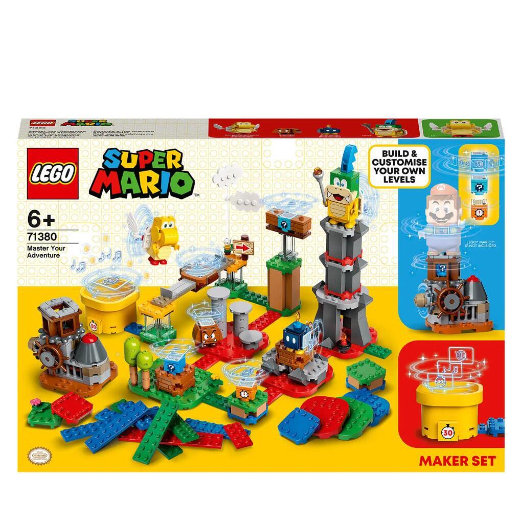 LEGO Super Mario Set de creación: tu propia aventura
