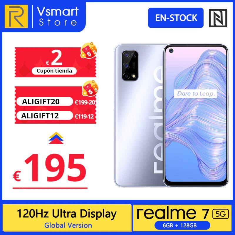 Realme 7 5G: pantalla 120 Hz, 4 cámaras y gran batería a 193€