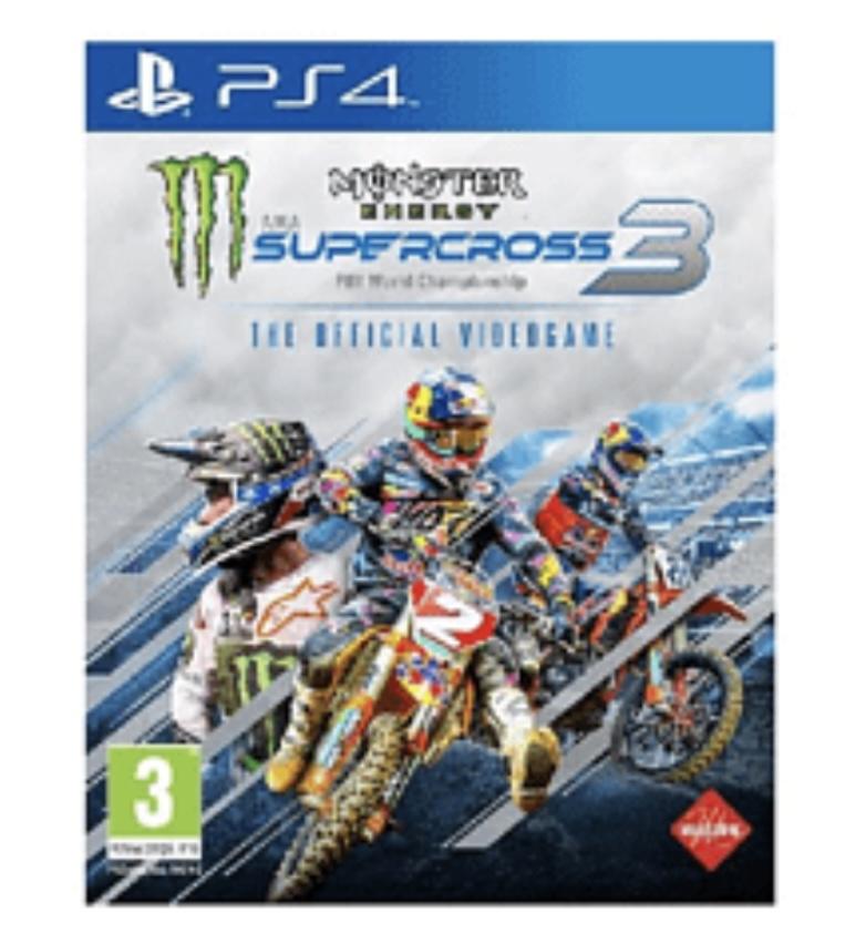 Monster Energy Supercross 3 Ps4 Nuevo
