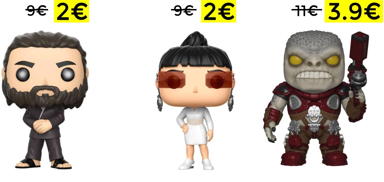 Liquidación de Funkos varios modelos desde 2€