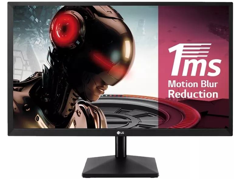 "Monitor gaming - LG 22MK400H-B, 21.5"", Full HD, 16:9, 1 ms, Dynamic Action Sync, Negro"