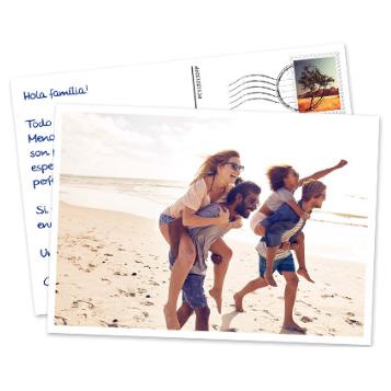 Tarjeta Postal con texto y foto GRATIS