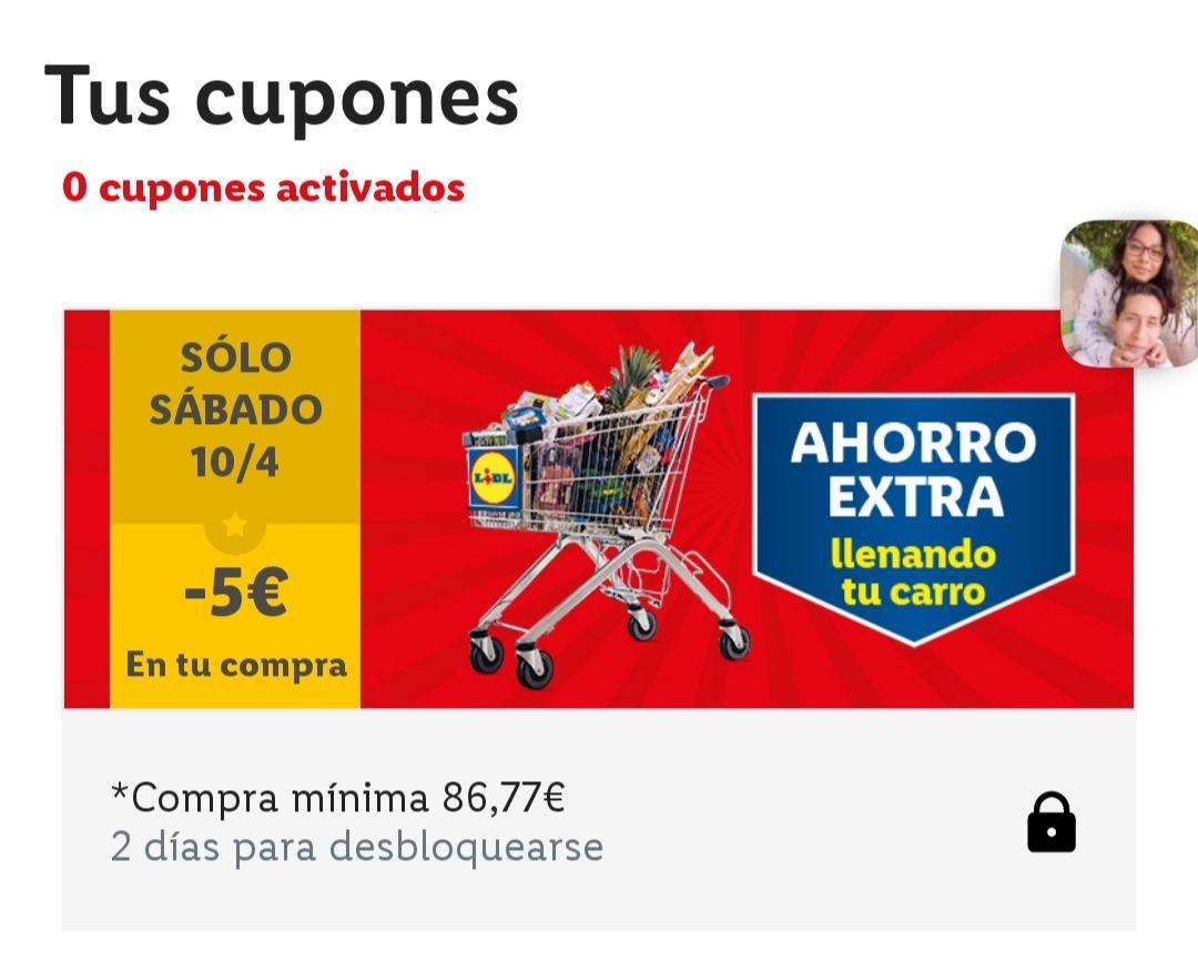 -5€ en tu compra de Lidel