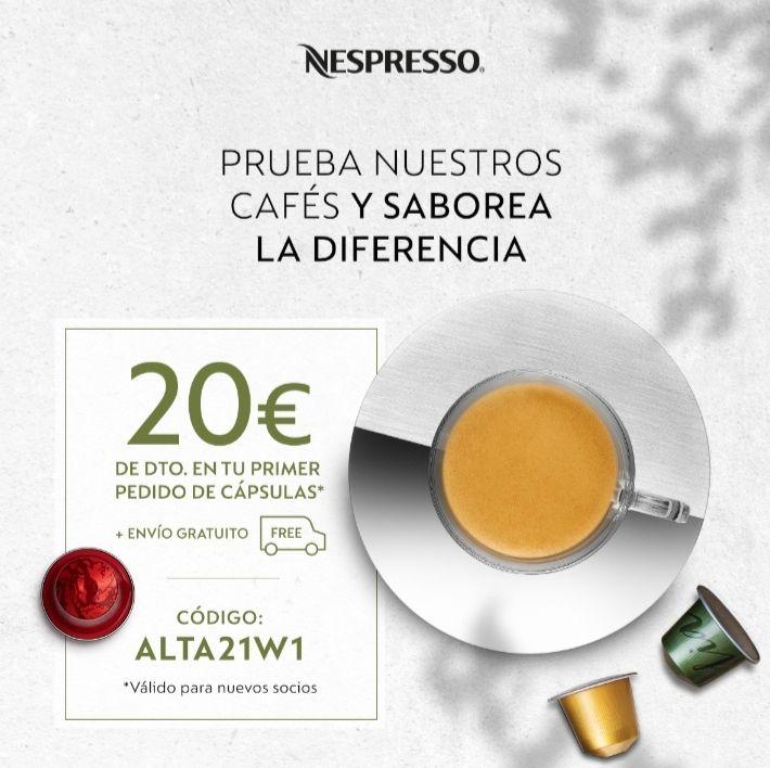 20€ descuento Nespresso
