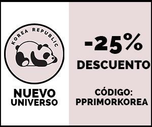 25 % De Descuento con el código PPRIMORKOREA