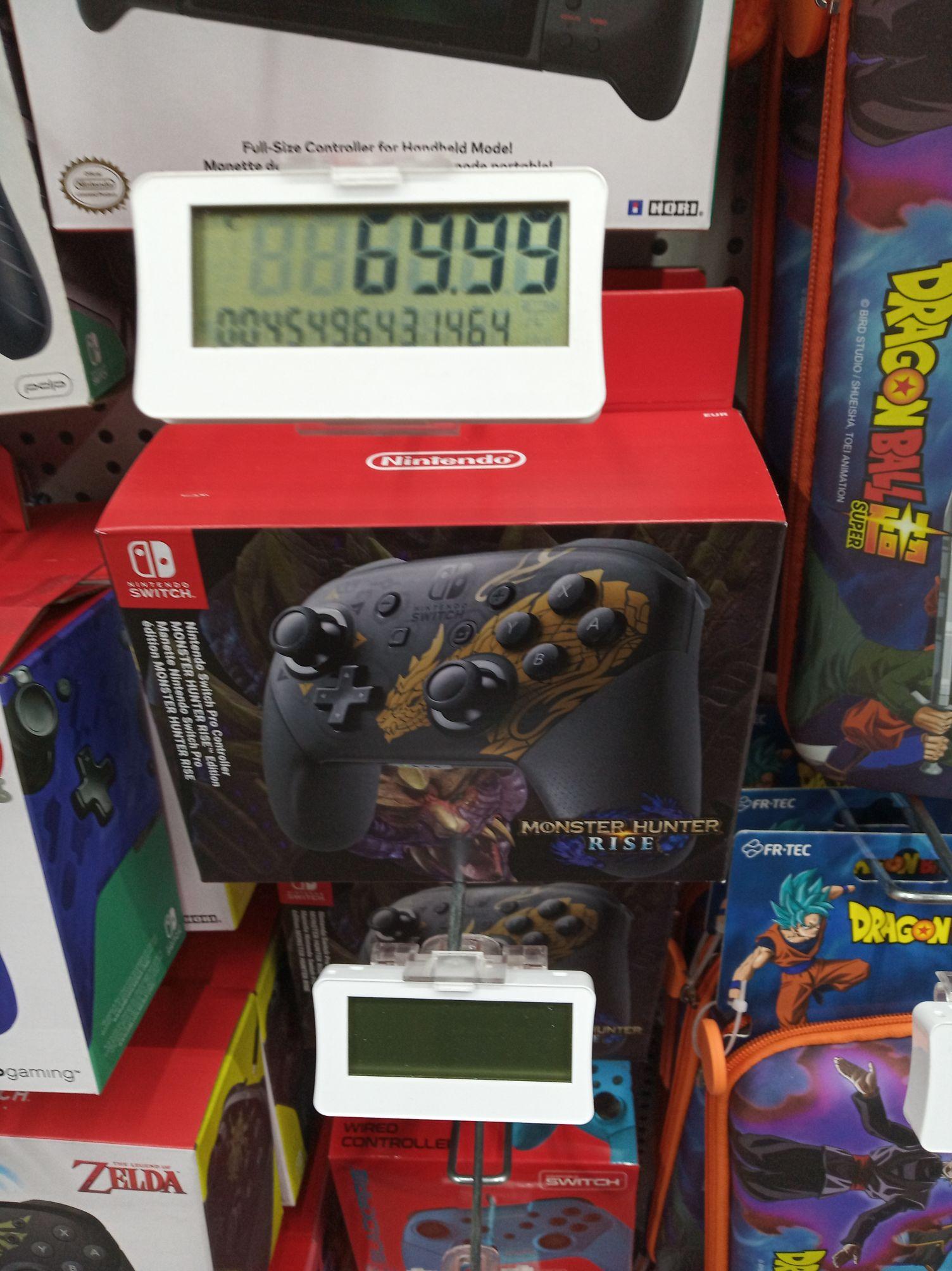 Mando Switch edición Monster Hunter Rise