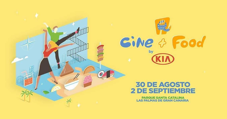 Festival cine+food pelis gratis de estreno(entre otras) al aire libre en Las Palmas