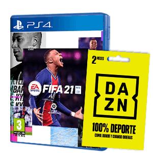 FIFA 21 + 2 MESES DE DAZN